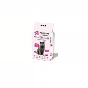 MagicSand Cat Litter Bebe Pudra Kokulu Kedi Kumu 5 Lt