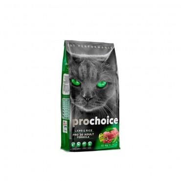 Pro Choice Pro 36 Lamb & Rice Kuzu Etli Yetişkin Kedi Maması 15 kg