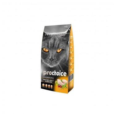 Pro Choice Pro 32 Sterilised Kısırlaştırılmış Tavuklu Kedi Maması 15 Kg