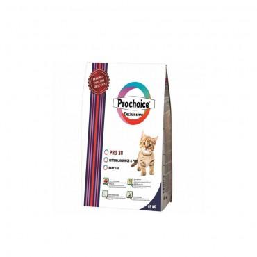 Pro Choice Pro 38 Kuzulu Ve Pirinçli Yavru Kedi Maması 15 Kg