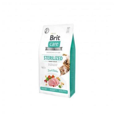 Brit Care Hypo-Allergenic Üriner Sistem Sağlığı için Tahılsız Kısırlaştırılmış Kedi Maması 2kg
