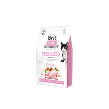 Brit Care Hypo-Allergenic Sindirim Sistemi Destekleyici Tahılsız Kısırlaştırılmış Kedi Maması 2kg