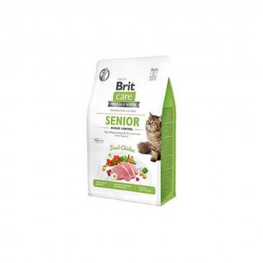Brit Care Senior Hypo-Allergenic Kilo Kontrolü için Tahılsız Yaşlı Kedi Maması 2kg