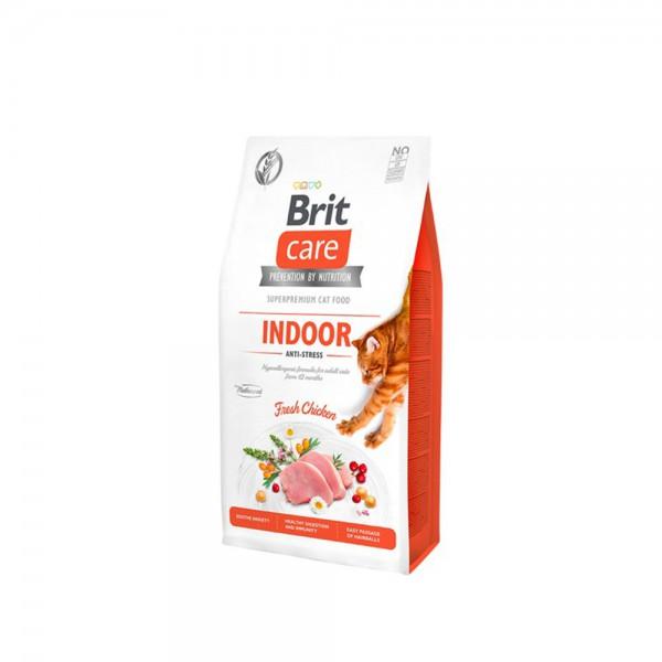Brit Care Brit Grain Free Indoor Anti Stress Tavuklu Kedi Maması 2 kg
