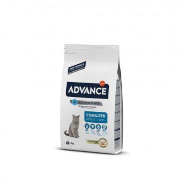 Advance Kısırlaştırılmış Kedi Hindili Kedi Maması 3 Kg
