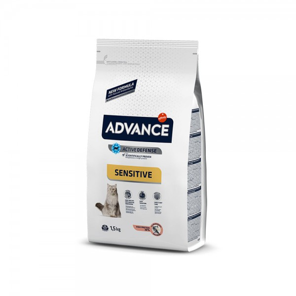 ADVANCE CAT ADULT SALMON SENSITIVE 1 KG AÇIK MAMA