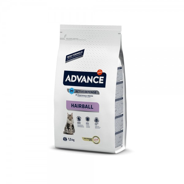 ADVANCE CAT ADULT HAIRBALL T&R 1,5KG