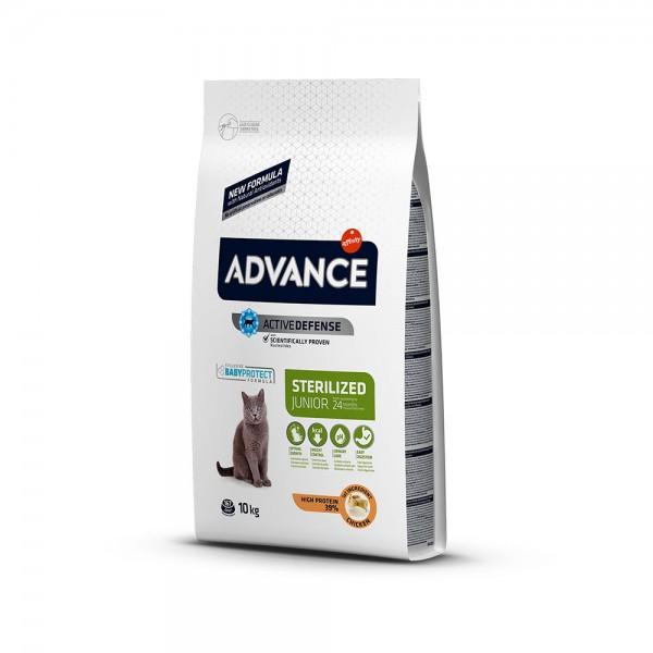 ADVANCE CAT JUNIOR STERILIZED 10KG