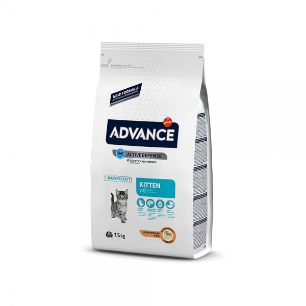 ADVANCE CAT KITTEN CHICKEN & RICE 1,5KG