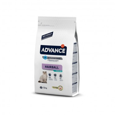 ADVANCE CAT STERILIZED HAIRBALL 1.5 KG