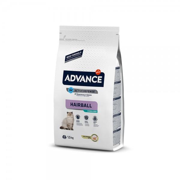 ADVANCE CAT STERILIZED HAIRBALL 1.5 KG