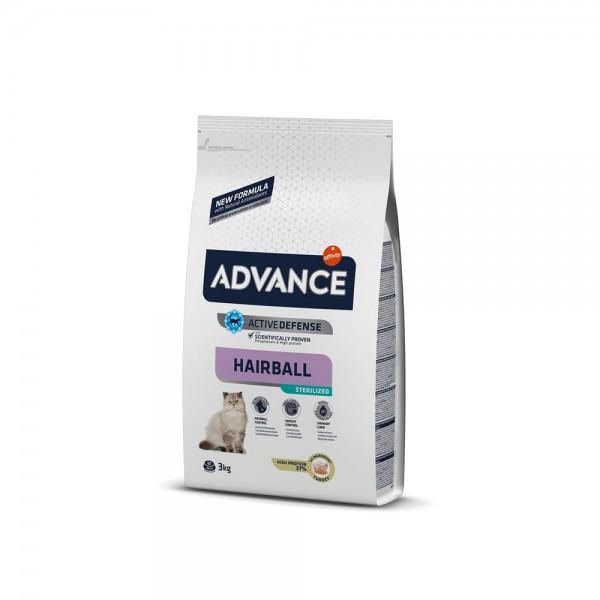 ADVANCE CAT STERILIZED HAIRBALL 3 KG