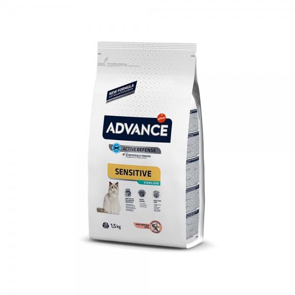 ADVANCE CAT STERİLİZED SALMON SENSITIVE 1.5 KG