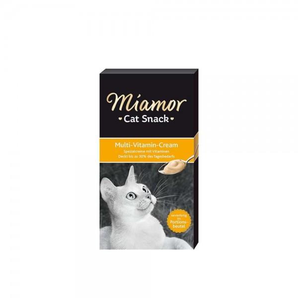 Miamor Cream Malt Kedi Multi Vitamini Ödül Maması 6x15 Gr