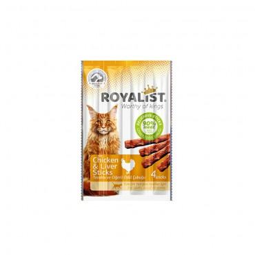 Royalist Cat Tavuklu Ve Ciğerli Stıcks