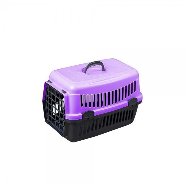 Kedi Köpek Taşıma Çantası 50x33x33 cm (Mor)