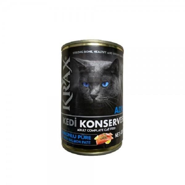 Krax Somonlu Kedi Konservesi 400 gr