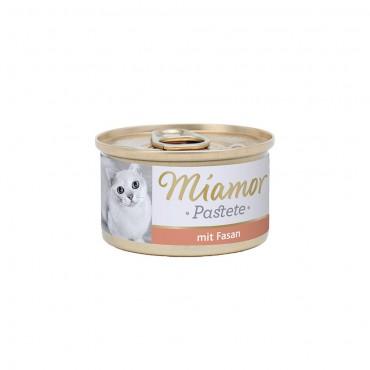 Miamor Pastete Sülün Etli Yetişkin Kedi Konservesi 85 Gr (3 ADET)