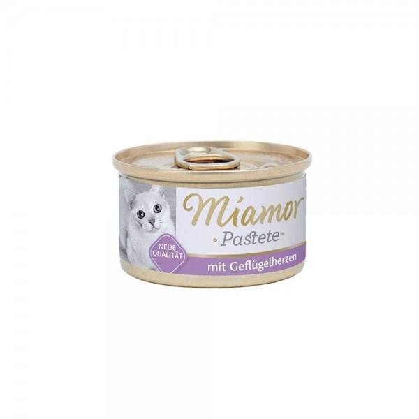 Miamor Pastete Yürekli Yetişkin Kedi Konservesi 85 Gr (3 ADET)