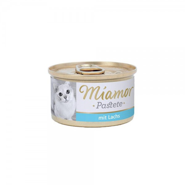 Miamor Pastete Somonlu Yetişkin Kedi Konservesi 85 Gr (3 ADET)