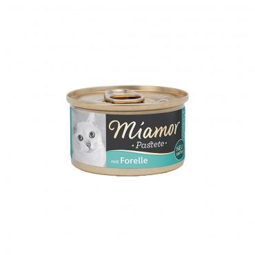 Miamor Pastete Alabalıklı Yetişkin Kedi Konservesi 85 Gr (3 ADET)