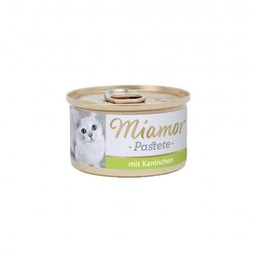 Miamor Pastete Tavşanlı Kedi Konservesi 85 Gr (3 ADET)