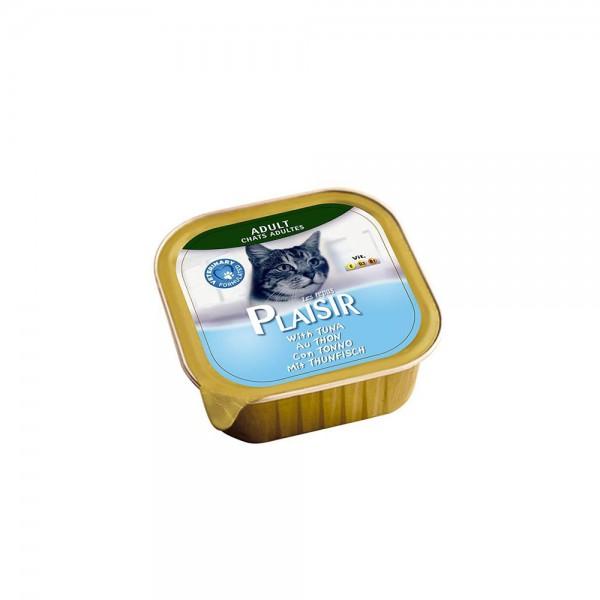 Plaisir Pate Tuna Balıklı Kedi Konservesi 100 Gr