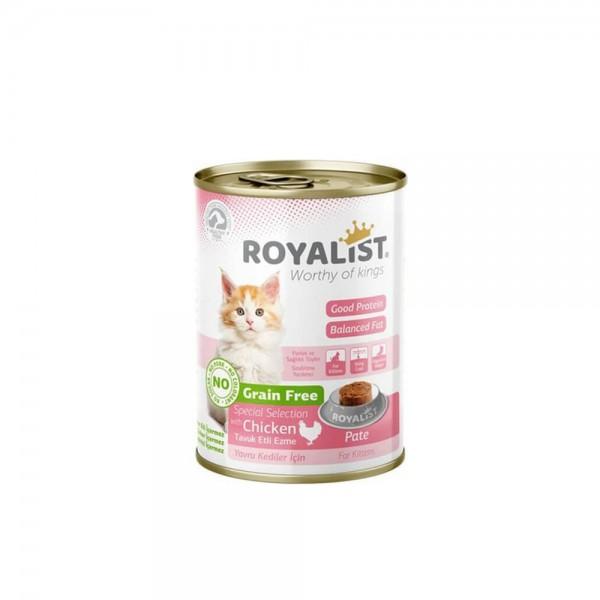 Royalist Kitten Tavuk Etli Yavru Kedi Konservesi 400 gr