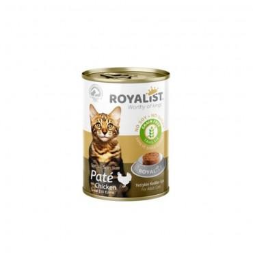 Royalist Kedi Tavuk Etli Ezme Yaş Mama 400 gr