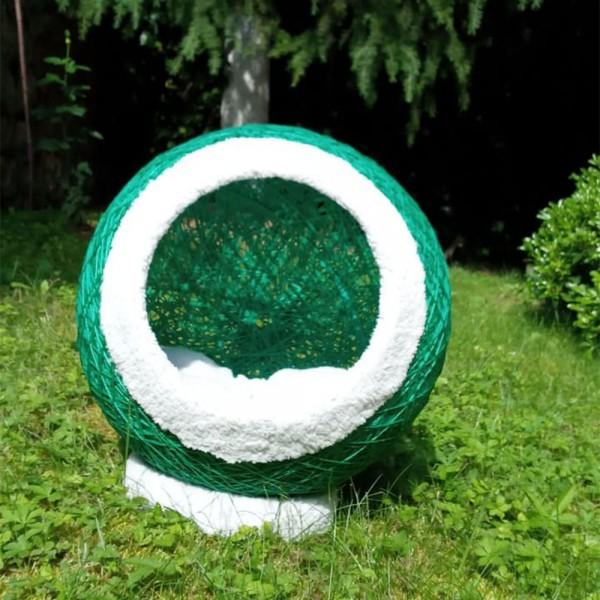 Yeşil Kedi Yatak-Tırmalar