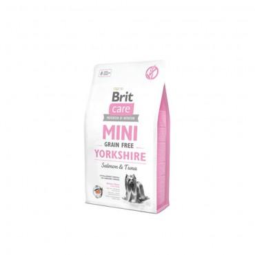 Brit Care Mini Yorkshire Küçük Irk Tahılsız Köpek Maması 2 Kg + 2 Adet Temizlik Mendili