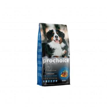 Pro Choice Proderma Kuzu Eti ve Pirinçli Köpek Maması 1 kg Açık Mama