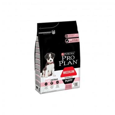 Medium Puppy Sensitive Skin OPTIDERMA Somon Eti İçeriği 3 Kg