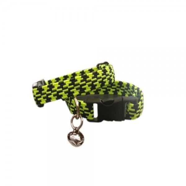 Ans Elastik Örme Yavru Kedi Köpek Boyun Tasması Sarı 10 Mm A=23/32 Cm